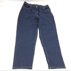 Blair Womens Denim Size 20W Blue Jean